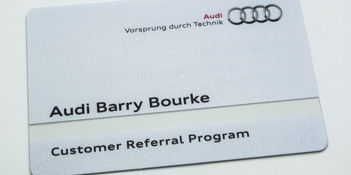 Project barry bourke audi transparent pvc business cards transparent pvc business cards reheart Image collections